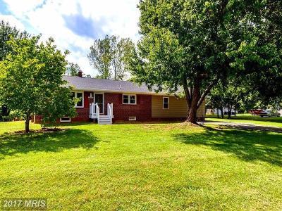 Fredericksburg VA Single Family Home For Sale: $265,000