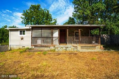 Fredericksburg Single Family Home For Sale: 211 Sandy Ridge Road