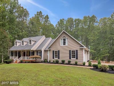 Fredericksburg Single Family Home For Sale: 10 Artillery Drive