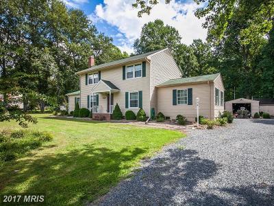 Fredericksburg Single Family Home For Sale: 154 Richland Road