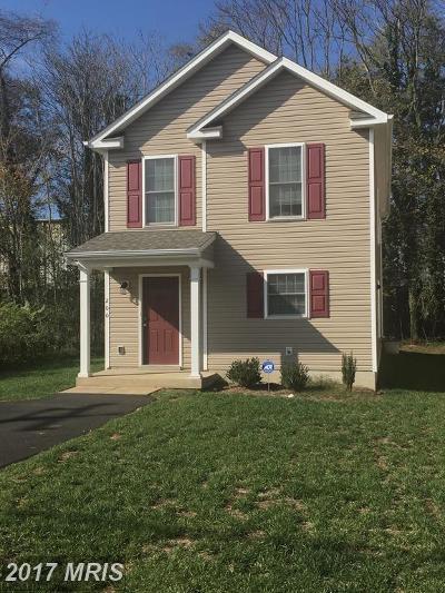 Fredericksburg Single Family Home For Sale: 933 Ficklen Road