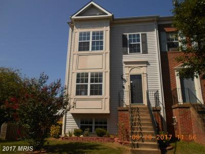 Stafford Townhouse For Sale: 301 Tolbelt Court