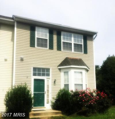 Stafford, Caroline, King George, Culpeper, Orange Townhouse For Sale: 700 Hatchers Run Court