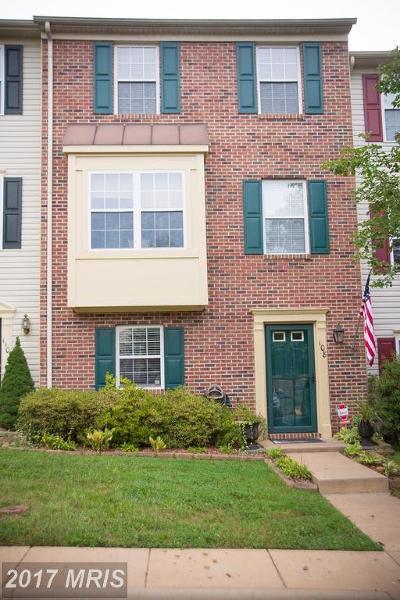 Fredericksburg VA Townhouse For Sale: $225,000