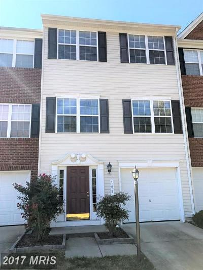 Stafford Townhouse For Sale: 108 Compass Cove