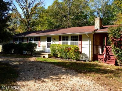 Stafford Single Family Home For Sale: 610 Holly Corner Road