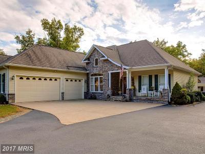 Fredericksburg Single Family Home For Sale: 472 McCarty Road