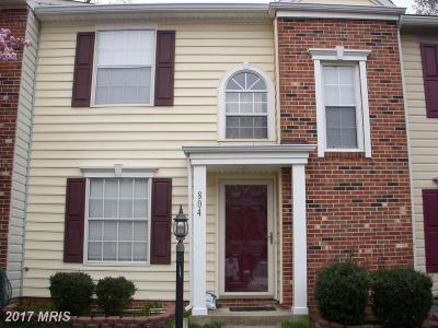 Stafford Townhouse For Sale: 804 Wind Ridge Drive