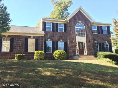 Fredericksburg Single Family Home For Sale: 81 Cardinal Forest Drive