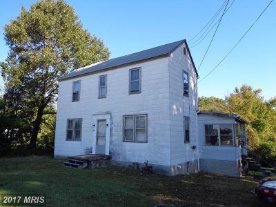 Fredericksburg Single Family Home For Sale: 725 White Oak Road