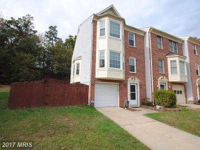 Stafford Townhouse For Sale: 101 Holly Knoll Court