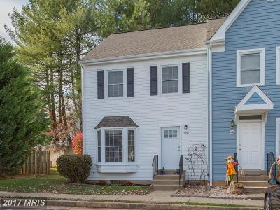 Stafford Townhouse For Sale: 409 Powhatan Court