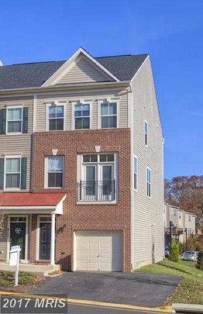 Stafford Townhouse For Sale: 219 Shamrock Drive