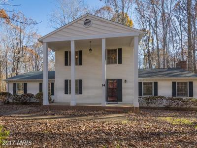 Fredericksburg Single Family Home For Sale: 14 Winslow Road