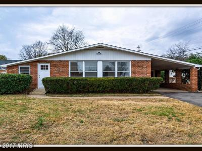 Stafford Single Family Home For Sale: 819 Bourne Street