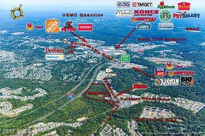 Stafford Residential Lots & Land For Sale: Jefferson Davis Highway