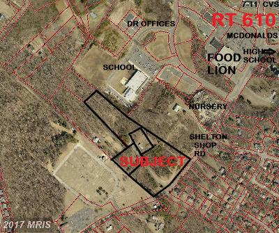 Stafford Residential Lots & Land For Sale: 130 Shelton Shop Road