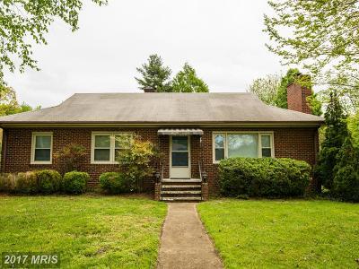 Fredericksburg VA Single Family Home For Sale: $208,000