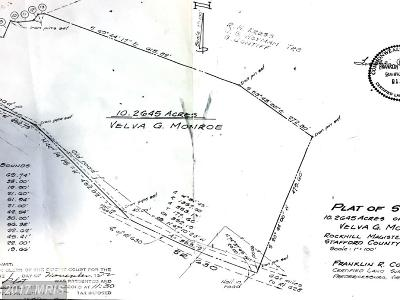 Stafford Residential Lots & Land For Sale: 225 Courthouse Road