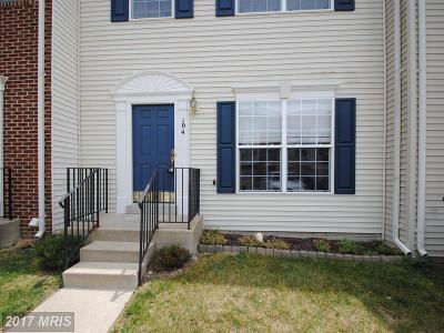 Stafford Townhouse For Sale: 104 Hemlock Drive