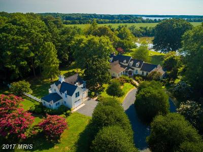 Cordova, Easton, Queen Anne, Wye Mills Single Family Home For Sale: 27505 Westpoint Road