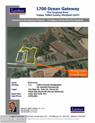 Trappe Residential Lots & Land For Sale: 1700 Ocean Gateway