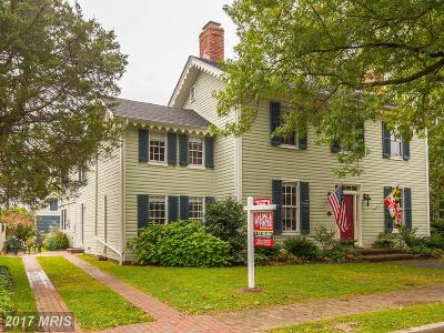 Historic St Michaels Single Family Home For Sale: 106 Chestnut Street
