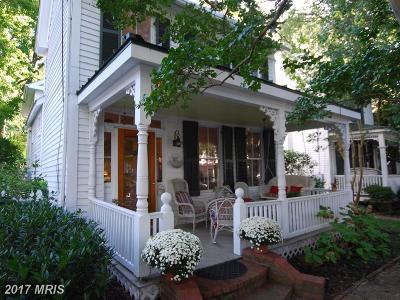 Oxford, Oxford Historic Distric Single Family Home For Sale: 207 Tred Avon Avenue