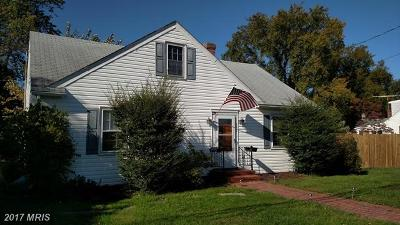 Talbot Single Family Home For Sale: 203 Seymour Avenue