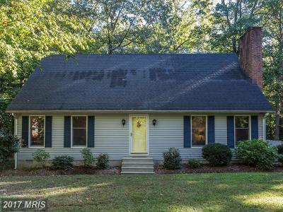 Easton Single Family Home For Sale: 6425 Boston Cliff Road