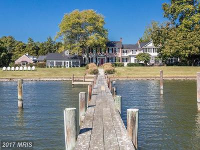 Bozman, Claiborne, Cordova, Easton, Mcdaniel, Neavitt, Newcomb, Oxford, Queen Anne, Royal Oak, Saint Michaels, Sherwood, St Michaels, St. Michaels, Tilghman, Trappe, Wittman, Wye Mills Single Family Home For Sale: 26849 Double Mill Road