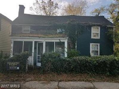 Easton Single Family Home For Sale: 117 South West Street