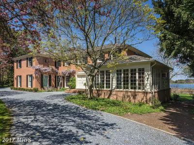 Cordova, Easton, Queen Anne, Wye Mills Single Family Home For Sale: 6649 Peachblossom Point Road