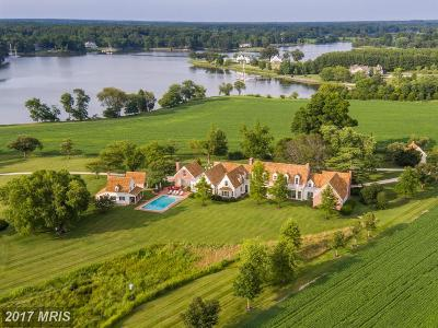 Bozman, Claiborne, Cordova, Easton, Mcdaniel, Neavitt, Newcomb, Oxford, Queen Anne, Royal Oak, Saint Michaels, Sherwood, St Michaels, St. Michaels, Tilghman, Trappe, Wittman, Wye Mills Single Family Home For Sale: 4240 Claylands Road