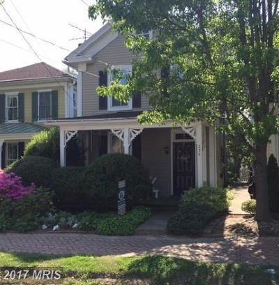 Oxford Single Family Home For Sale: 224 Morris Street S