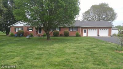 Easton Single Family Home For Sale: 9893 Three Bridge Branch Road