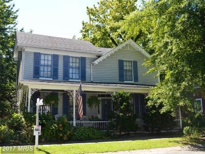 Saint Michaels Single Family Home For Sale: 106 Chestnut Street E