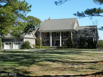 Bozman, Claiborne, Cordova, Easton, Mcdaniel, Neavitt, Newcomb, Oxford, Queen Anne, Royal Oak, Saint Michaels, Sherwood, St Michaels, St. Michaels, Tilghman, Trappe, Wittman, Wye Mills Single Family Home For Sale: 26040 Goose Neck Road