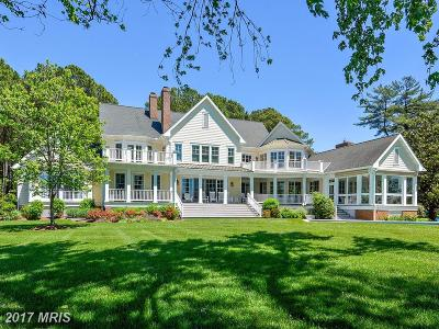 Bozman, Claiborne, Cordova, Easton, Mcdaniel, Neavitt, Newcomb, Oxford, Queen Anne, Royal Oak, Saint Michaels, Sherwood, St Michaels, St. Michaels, Tilghman, Trappe, Wittman, Wye Mills Single Family Home For Sale: 25927 Goose Neck Road