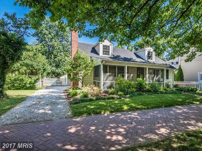 Historic St Michaels Single Family Home For Sale: 203 Mulberry Street