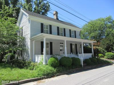 Saint Michaels, St Michaels, St. Michaels Single Family Home For Sale: 118 Grace Street