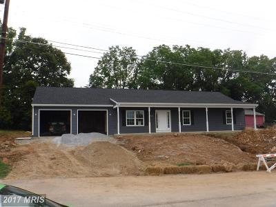 Sharpsburg Single Family Home For Sale: 105 Potomac Street N