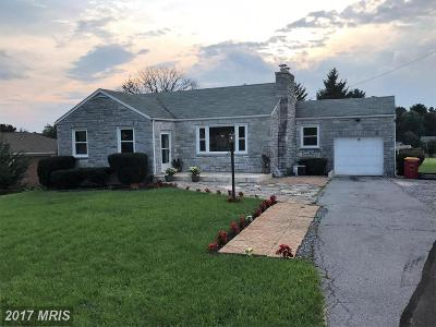 Boonsboro Single Family Home For Sale: 15 Maple Avenue