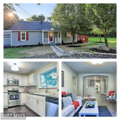 Knoxville Single Family Home For Sale: 19625 Yarrowsburg Road