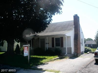 Hagerstown Single Family Home For Sale: 312 Wakefield Road