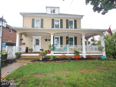 Boonsboro Single Family Home For Sale: 409 Main Street