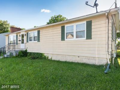 Hagerstown Single Family Home For Sale: 1045 Pope Avenue