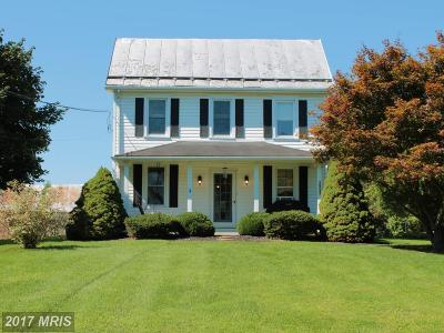 Hagerstown Single Family Home For Sale: 16027 Broadfording Road