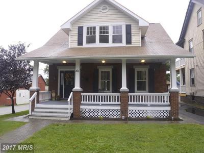 Boonsboro Single Family Home For Sale: 101 Lakin Avenue
