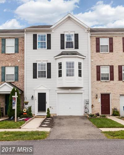 Smithsburg Townhouse For Sale: 119 Eagles Ridge